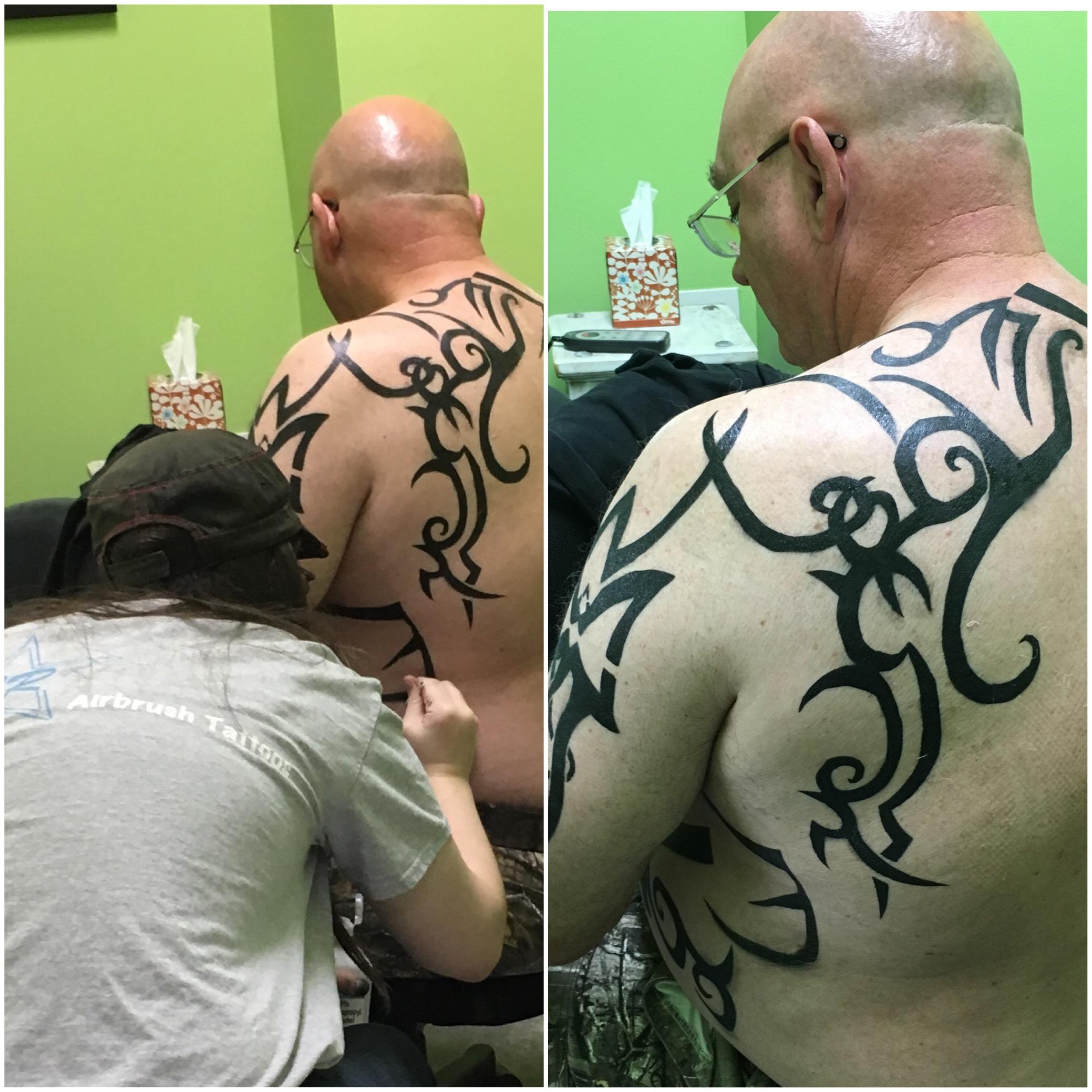 Celena Randall - Airbrush Tattoo Artist